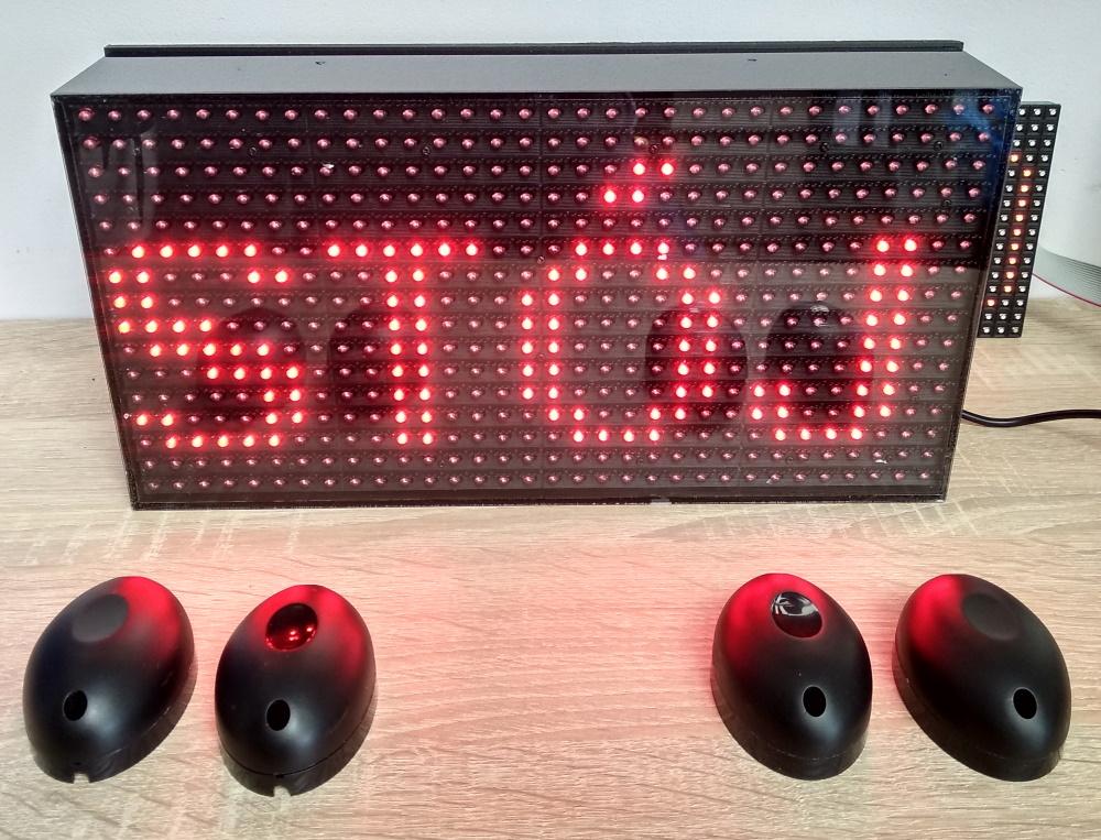Wyświetlacz LED Licznika ludzi
